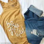 High Vibe Sentiments, beyoutiful- Tank