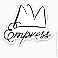 Empress- Sticker