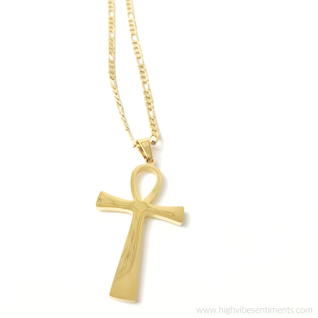 High Vibe Sentiments, Ankh Necklace