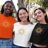 High Vibe Sentiments, Sunburst Crop Top
