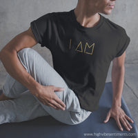 "High Vibe Sentiments, ""I AM"" Tee"