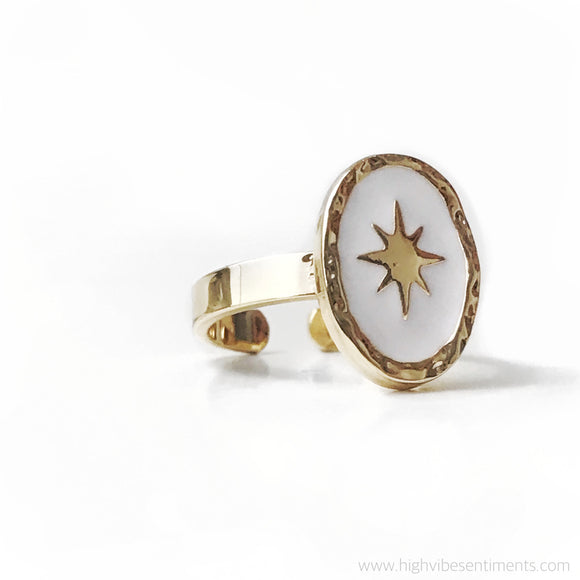 High Vibe Sentiments, Guiding Light Ring