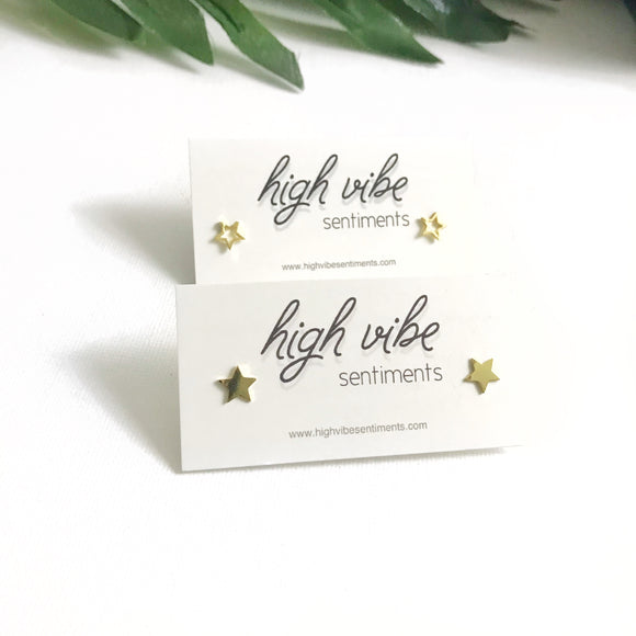 High Vibe Sentiments, Star Studs