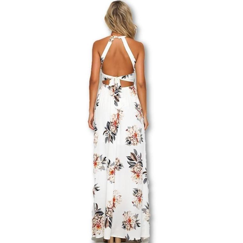 Bohemian Split Long Dress