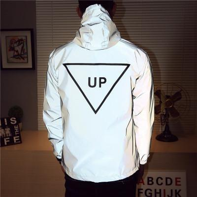 Up Windbreaker Hoodie