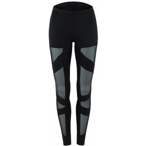 High Waist Mesh Fit Leggings
