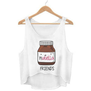 Skippy and Nutella Best Friend Tops
