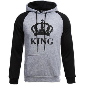 King and Queen Crown Hoodies
