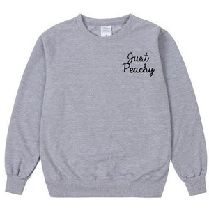 Just Peachy Sweatshirt
