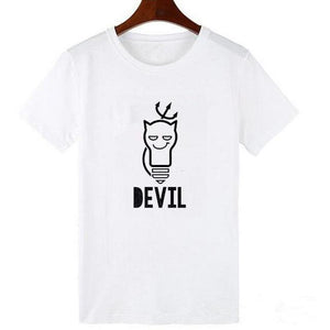 Angel and Devil Tees