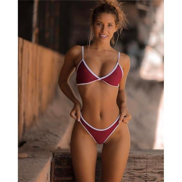 Simply Sweet Brazilian Outline Bikini