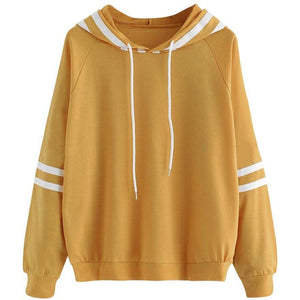 Striped Hood Young Jumper Hoodie