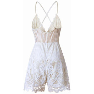 Summer Lace Camisole Dress
