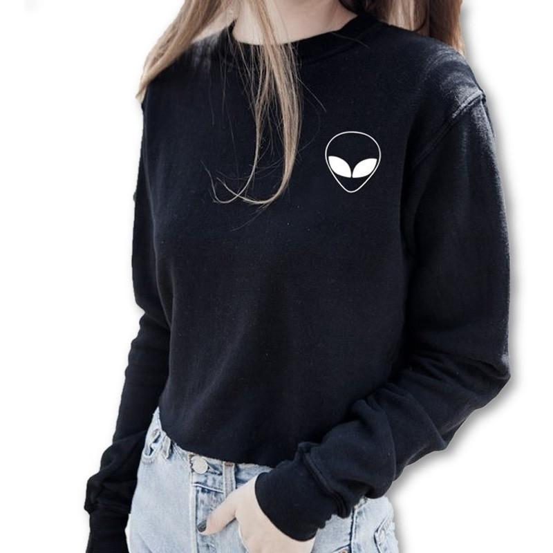 Alien Sweatshirt - Desire Wear