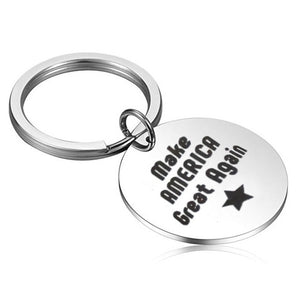 MAGA Stainless Steel Key Chain