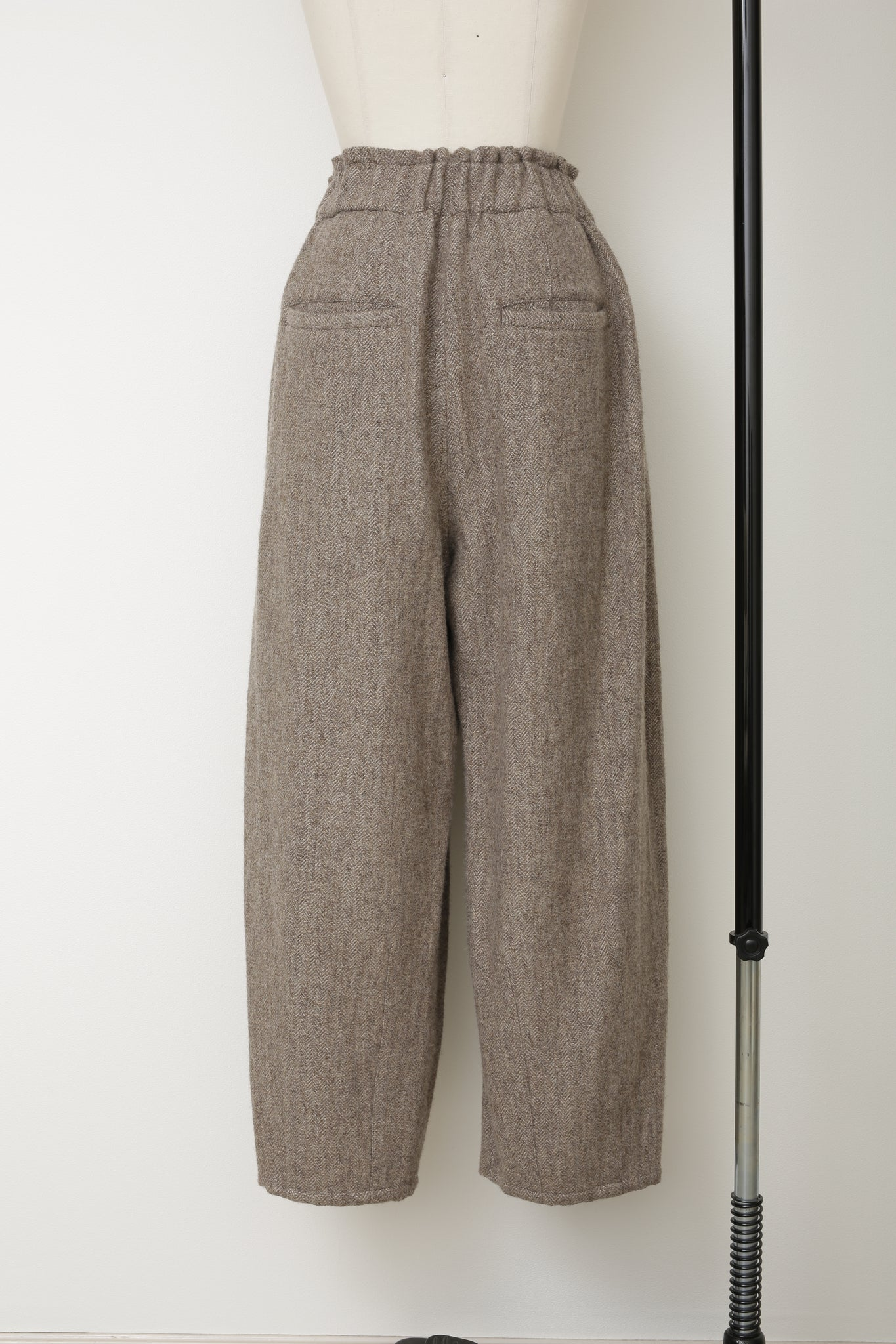 Wool BigTuck Pants