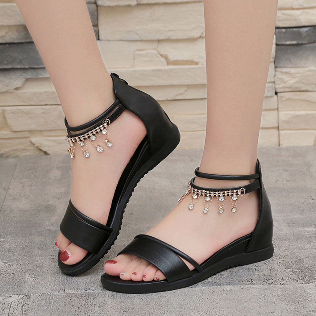 Comfortable Platform Sandals - Shop Livezy Lane