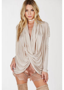 Trippy Draped Top - Shop Livezy Lane