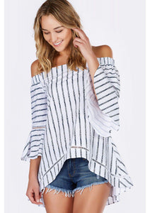 Sweetest Thing Off Shoulder Top - Shop Livezy Lane