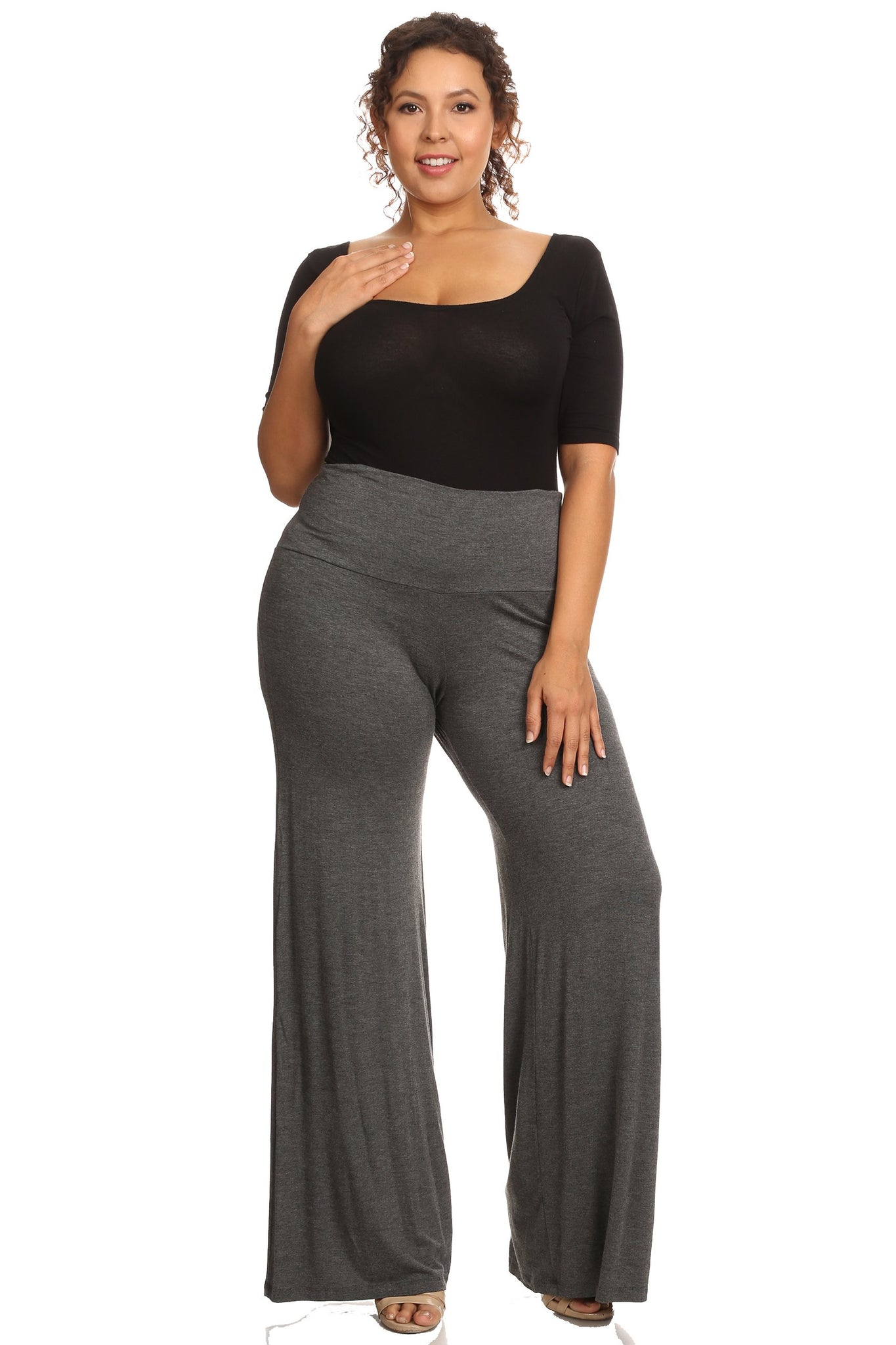 Women's Palazzo Pants - Made in the USA
