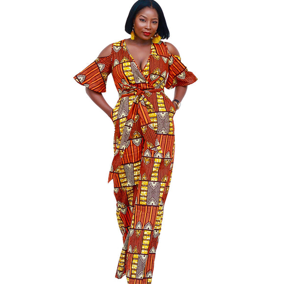 National Style Print Jumpsuit - Shop Livezy Lane