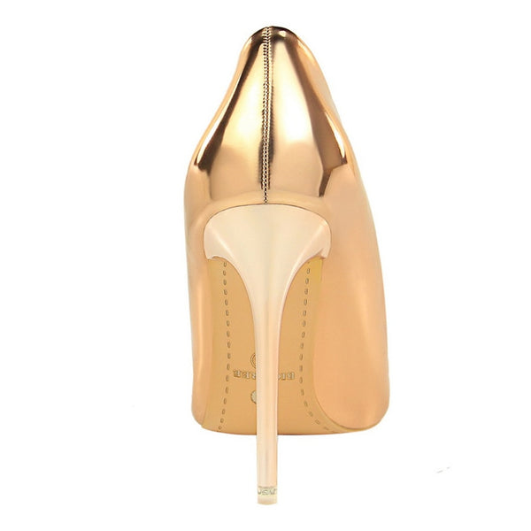 Patent Leather Sexy High Heels Shoes - Shop Livezy Lane