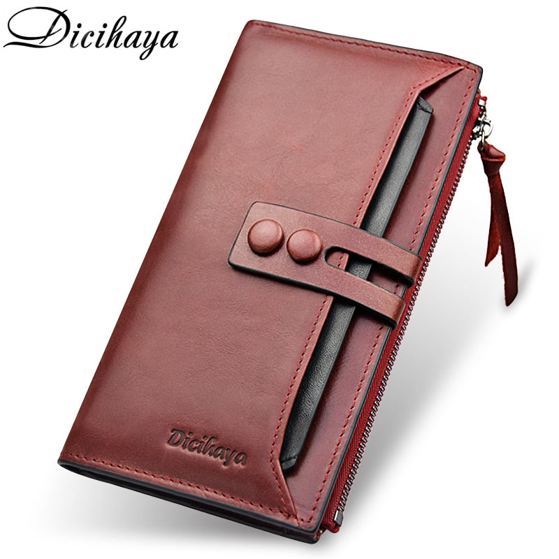 Genuine Leather High Quality Ladies Clutch Wallet - Shop Livezy Lane