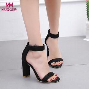 Fish Mouth Sexy Ankle Sandals - Shop Livezy Lane