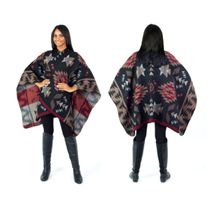 Women's Tribal Poncho