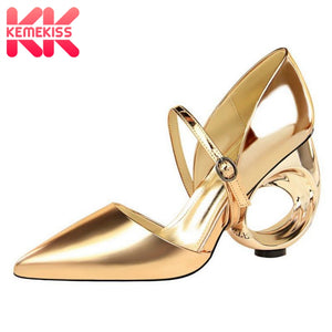 Strange Heels Pointed Toe Ladies Shoes - Shop Livezy Lane