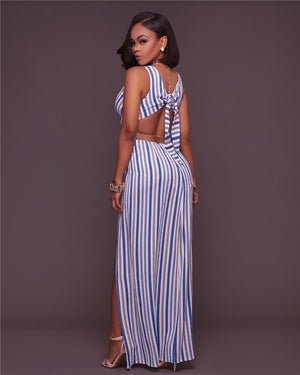 High Slit Sexy Double Split Long Dress - Shop Livezy Lane