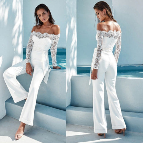 Lovely & Lace Sexy Jumpsuit - Shop Livezy Lane
