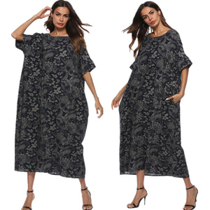 Loose Cocoon Dress - Shop Livezy Lane