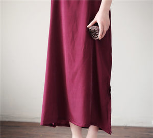 Women 100% REAL SILK Under Dress