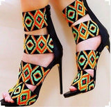 Sexy Print Stiletto Heel - Shop Livezy Lane