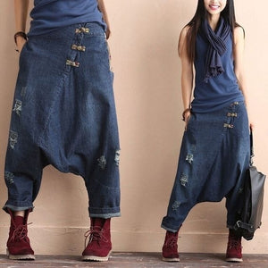 Drop Crotch Jeans - Shop Livezy Lane