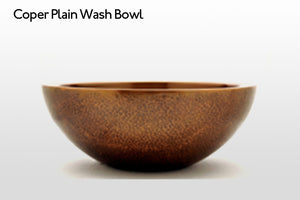 Plain Wash Bowl
