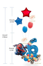 Load image into Gallery viewer, Spider Man Balloon Bouquet