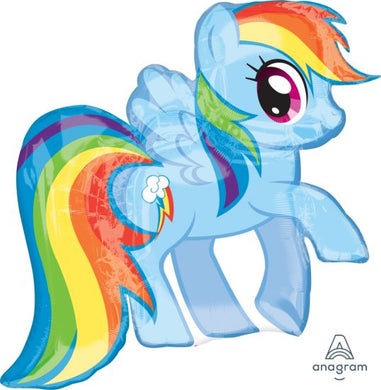 My Little Pony Rainbow Dash Shaped Foil Balloon