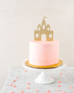 Princess Castle Cake Topper PK1