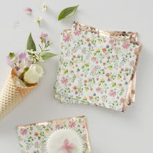 Load image into Gallery viewer, Ditsy Floral Napkins (PK16)