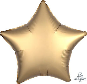 Satin Luxe Gold Foil Star