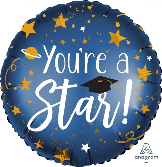 You're A Star Grauduation Foil Balloon