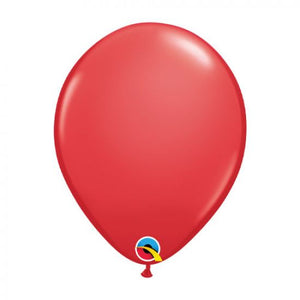 "11"" Standard Red Latex Balloon"