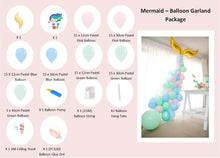 Load image into Gallery viewer, Mermaid Party Box