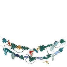 Load image into Gallery viewer, Dinosaur Kingdom large garland