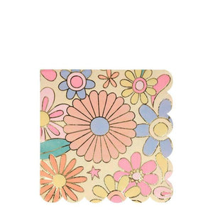 Psychedelic 60s Large Napkins (PK16)