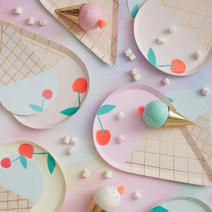 Icecream plates (PK8)