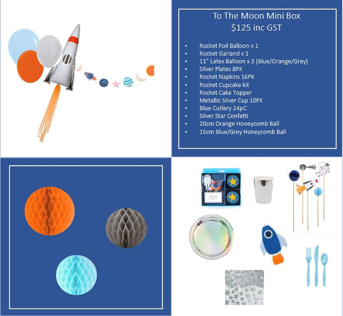 To The Moon Mini Box