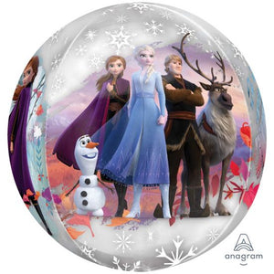 Frozen 2 Clear Orbz Foil Balloon
